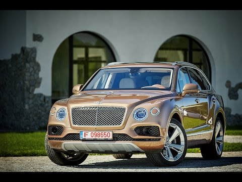 Bentley Bentayga Test Drive AutoBlog.MD