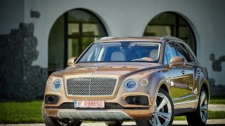 Bentley Bentayga Test Drive AutoBlog.MD