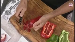 truco para saltear pimientos