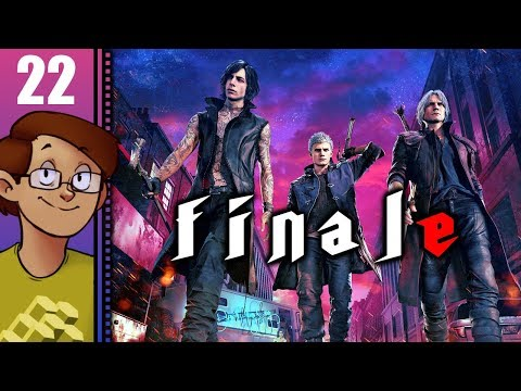 Let's Play Devil May Cry 5 Part 22 FINALE - Mission 19/20: Vergil/True Power thumbnail