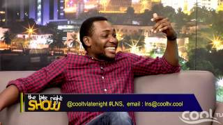 THE LATE NIGHT SHOW - Guest Tope Tedela Pt4 Cool TV