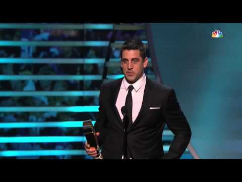 Aaron Rodgers wins 2014 NFL MVP award