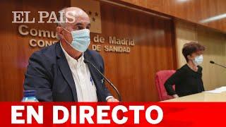 DIRECTO #CORONAVIRUS   Rueda de prensa del responsable del PLAN COVID-19 en MADRID