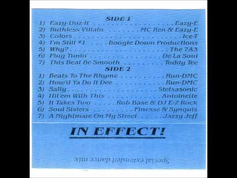 DJ DR. DRE - IN EFFECT (FULL HOUR LONG MIXTAPE) 1987 COMPTON NWA