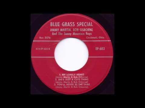 My Lonely Heart - Jimmy Martin & Bob Osborne