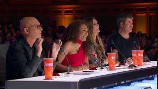 America's Got Talent 2018 Kaylee and Eddie Auditions 4