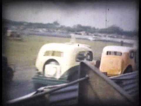 Early 60s Stock Car Racing Arlington Raceway
