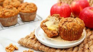 3 Delicious Autumn Muffin Recipes | Pumpkin Spice, Apple Walnut, Carrot Cake!