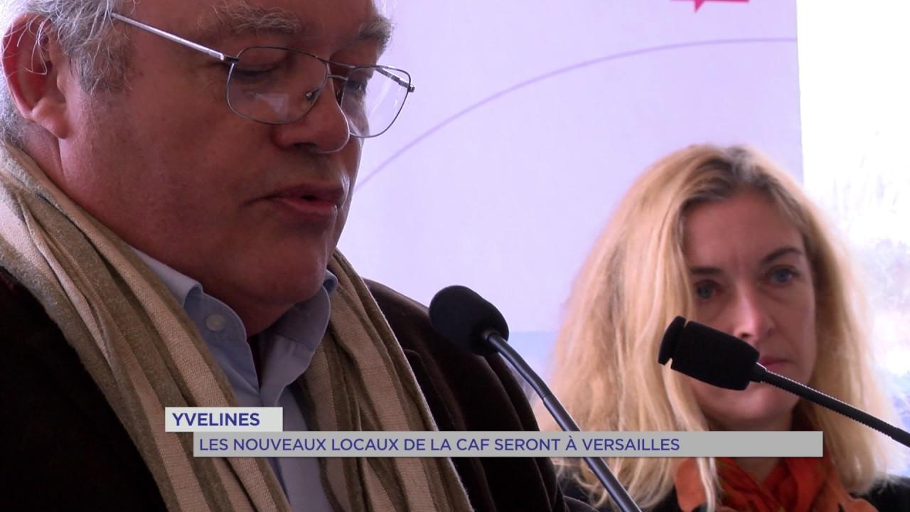 Yvelines : les nouveaux locaux de la CAF à Versailles