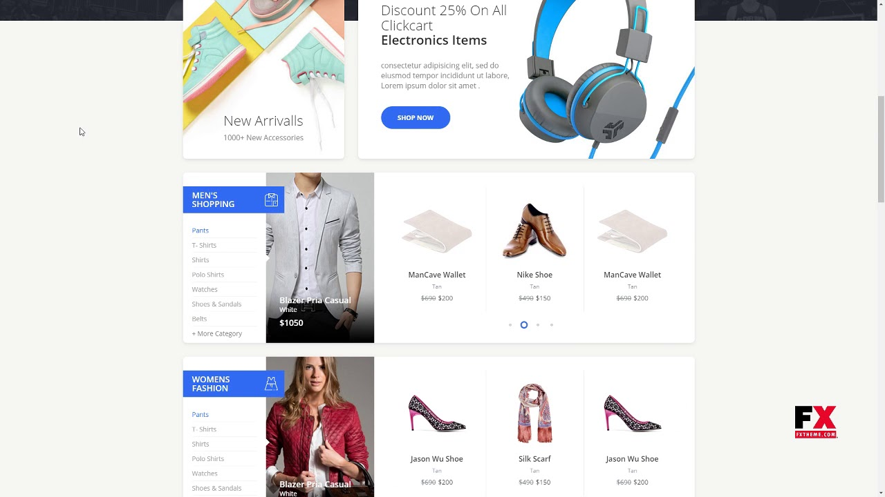 Carrito Bootstrap 4 Ecommerce Template Bailey Glenn Youtube