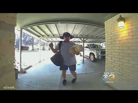 Mail Carrier Dancing While Delivering Mail Goes Viral