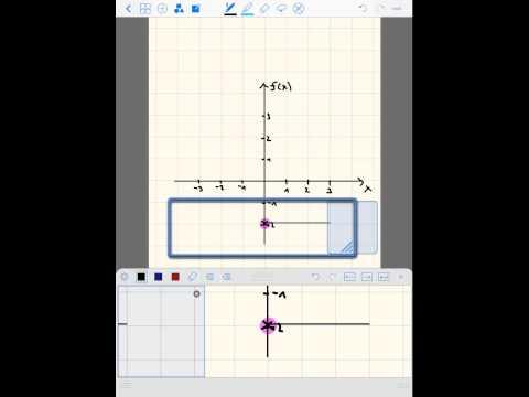 lineare funktion zeichnen 4 bruch als steigung youtube. Black Bedroom Furniture Sets. Home Design Ideas