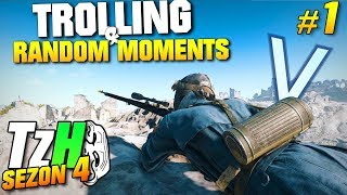 Battlefield 5 Trolling & Random Moments - TzH (SEZON 4) #1