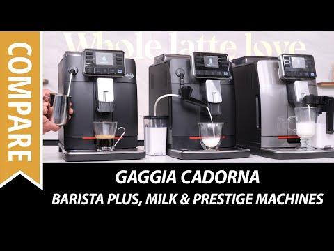 Compare Gaggia Cadorna Super Automatic Espresso Machines