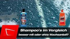 Autoshampoo mit oder ohne Wachs ? - Surf City Garage Wash&Wax vs. Sonax Autoshampoo