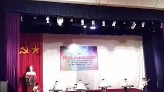 Hòa tấu nhạc nhẹ của lớp NDV3B Trường Cao đẳng Văn Hóa Nghệ thuật tây bắc