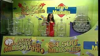 Sorteo de la Lotería de Medellín número 4233 - 29/08/2014