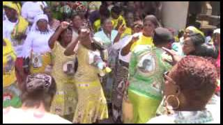 ZANU PF Womens League members singing  - Takazvarwa takangodaro (Part 2)