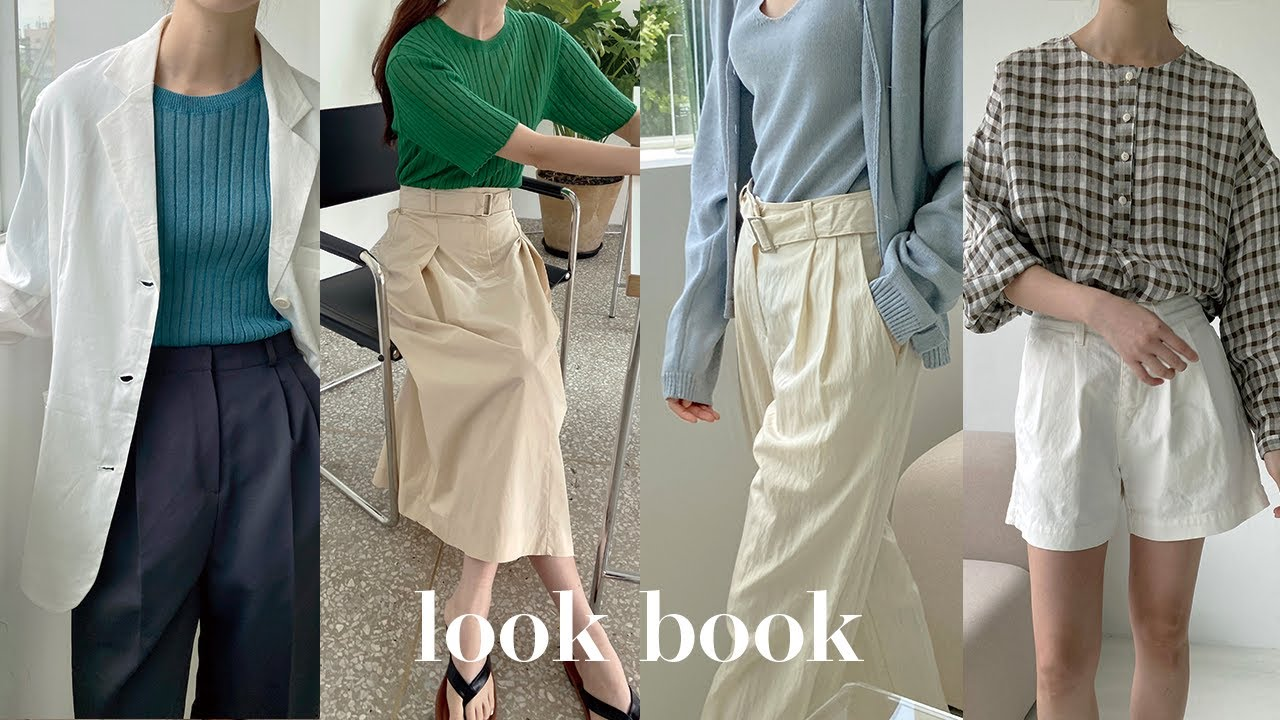 summer lookbook 데일리하고 쾌적하게 입기좋은 여름 아이템 모음ㅣ린넨자켓, 시어서커 셔츠, 코튼 쇼트 팬츠, 썸머 슬랙스