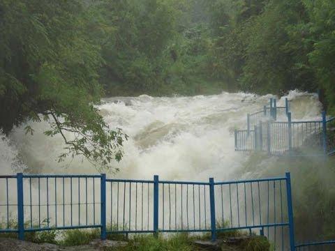 pokhara davis fall ma pani ko bahab badhe  pachi |flood | badi पोखरा डेविस फलमा  बादी  . Part A