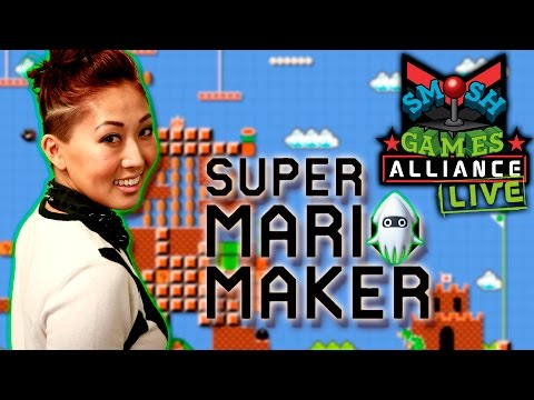SUPER MARIO MAKER w/ MARI AND SOHINKI (SGA Live)