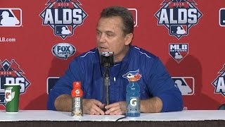 TEX@TOR Gm 1: Gibbons on injuries, Game 1 loss