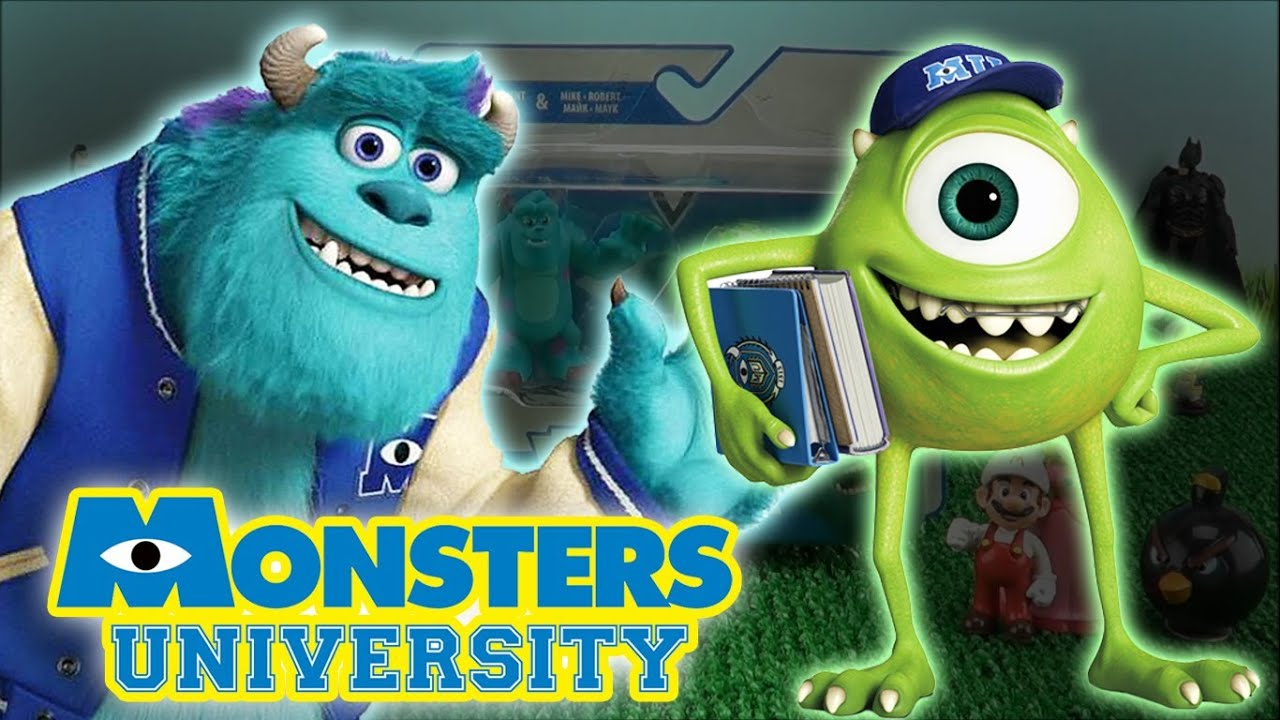 Monsters university movie toys mike wazowski sulley james p monsters university movie toys mike wazowski sulley james p sullivan walt disney toys youtube voltagebd Image collections