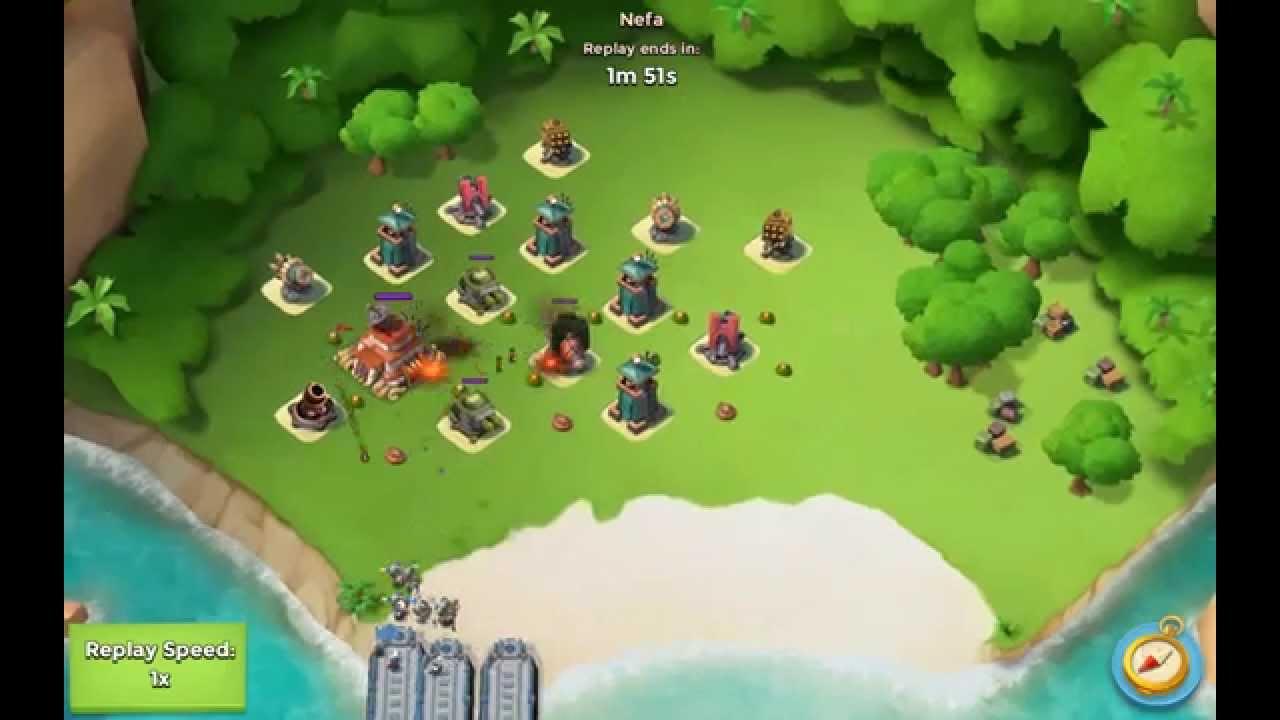 boom beach max level tanks