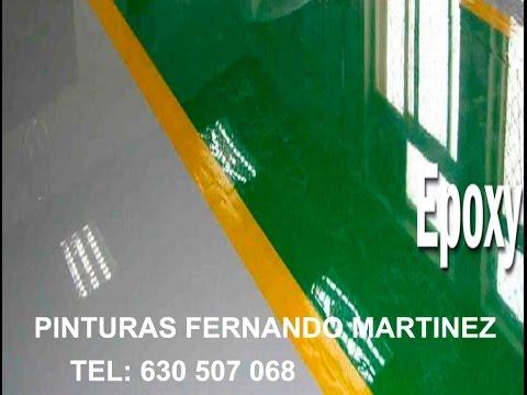 Pintar Suelo Nave Industrial  YouTube
