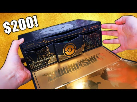 Opening the $200 Pokemon Ultra-Premium Collection Box!