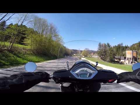 2015-04-21 Vespa GTS 300 ie - Alpl - Höllental 4/12