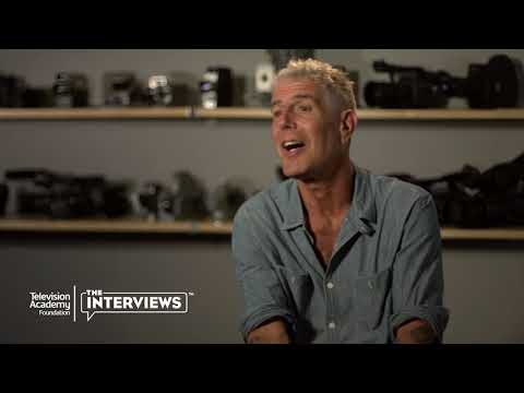 "Anthony Bourdain on winning an Emmy for ""Parts Unknown"" - TelevisionAcademy.com/Interviews"