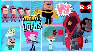 Teeny Titans - The HIVE Five Team VS The Hooded Hood - iOS / Android Gameplay Video(Jinx, See-More, Gizmo, Billy Numerous, Mammoth (The H.I.V.E Five Team) VS The Hooded Hood - Maximum Level, Maxed Out Everything ;) Teeny Titans, GO!, 2016-07-29T15:02:41.000Z)