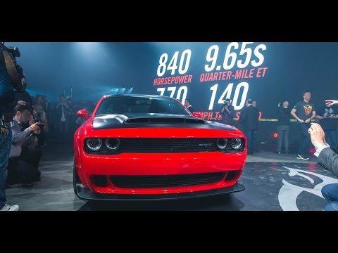 Reveal   Challenger SRT® Demon   Dodge