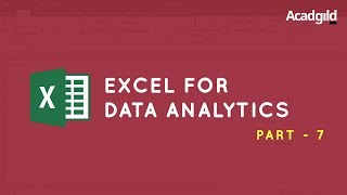 Excel Tutorial for Beginners #7 | Excel Formulas and Function | Date and Time Function in Excel
