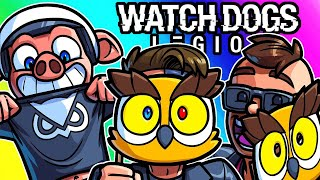 Watch Dogs Legion Funny Moments - Vanoss Fan Club, Roll Out!