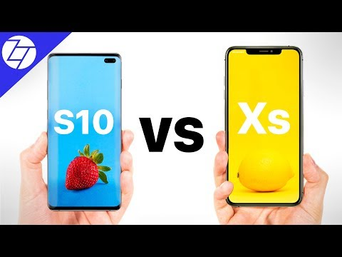 Samsung Galaxy S10 Plus vs iPhone XS Max - Which One to Get?