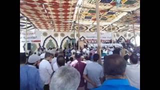 بالصور والفيديو.. مؤتمر حاشد لملاك أراضي القادسية