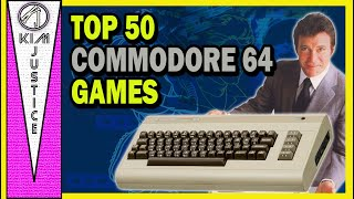 Kim Justice's Top 50 Commodore 64 Games of All-Time