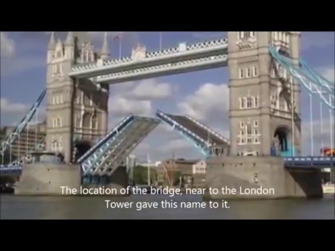 London tower bridge opening and closing for Cruise