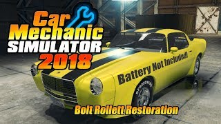 Car Mechanic Simulator 2018: Bolt Rollett Restoration