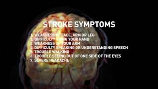 Warning Signs of a Stroke video thumbnail