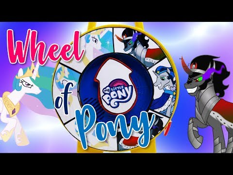 Princess Celestia and King Sombra Play Spinning Wheel of Pony Game