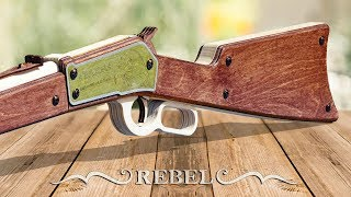 Как сделать Winchester 1886 из дерева? REBEL от T.A.R.G.