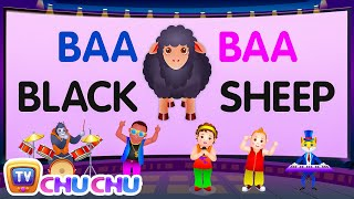 Baa Baa Black Sheep - Nursery Rhymes Karaoke Songs For Children | ChuChu TV Rock
