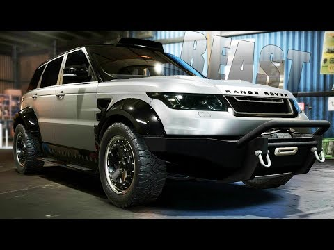 Need for Speed Payback | NEW RANGE ROVER SPORT SVR OFFROAD BUILD