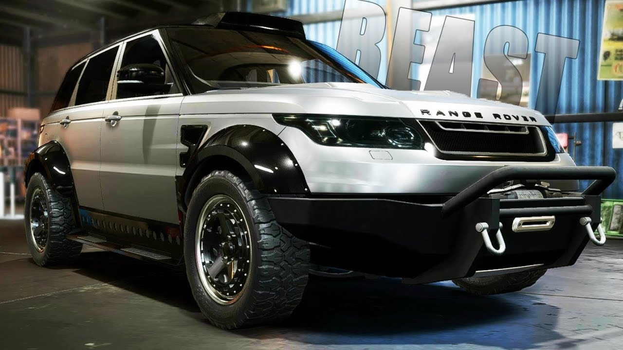 Need For Sd Payback New Range Rover Sport Svr Offroad Build