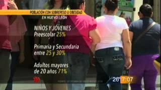 Las Noticias - Carecen Salud de padrón de casos de obesidad en Nuevo León