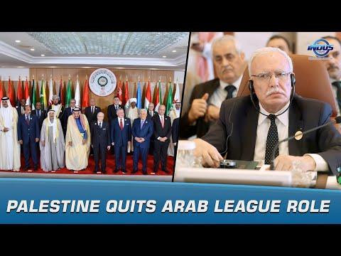 Palestine Quits Arab League Role   News Bulletin   Indus News