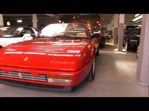 1988 ferrari mondial 3 2 cabriolet youtube. Black Bedroom Furniture Sets. Home Design Ideas